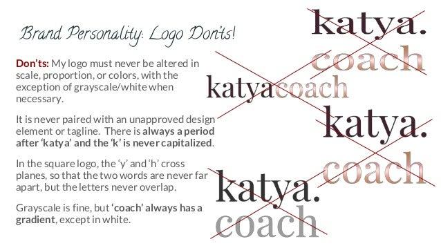 katya slivinskaya logo standards guide