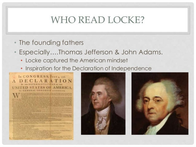 john locke founding fathers