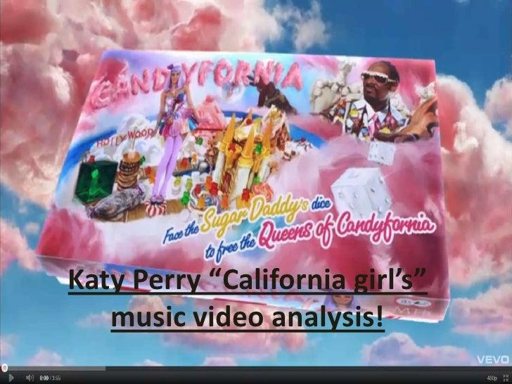 "Katy Perry ""California girl's"" music video analysis!<br />"