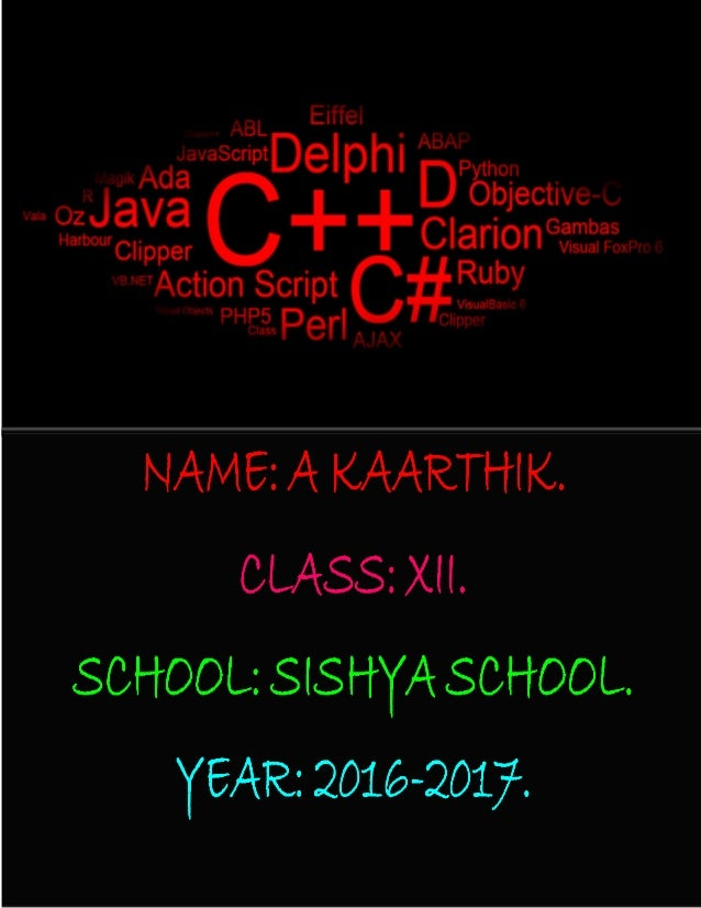 SISHYA SCHOOL, HOSUR. Certificate This is to certify that Master/Miss_____________________________________________________...
