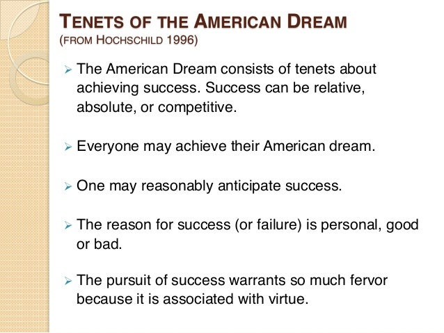 an analysis of the american dream A commonality of elements the paper also contains an analysis of the ideology  that the american dream is founded upon keywords: utopia, america, dreaming .