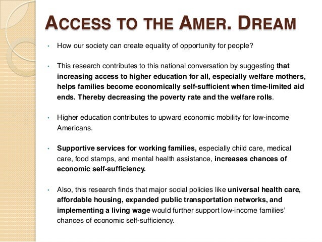 American dream means me essay contest