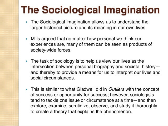 sociology essays on sociological imagination