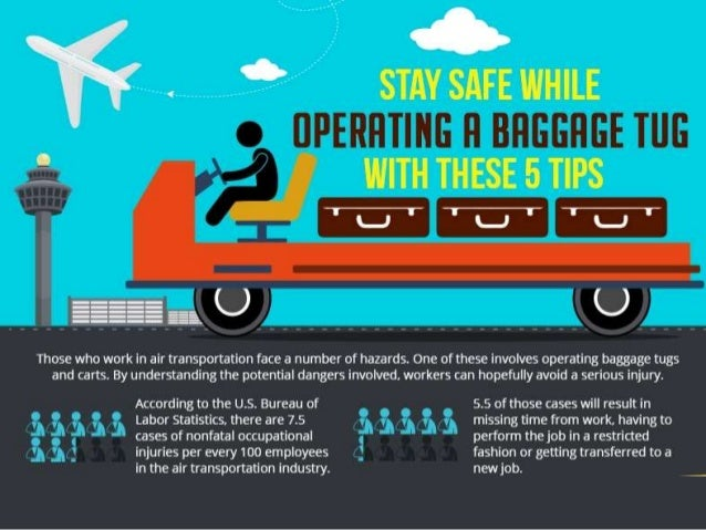 Stay safe while operating a baggage tug with these 5 tips