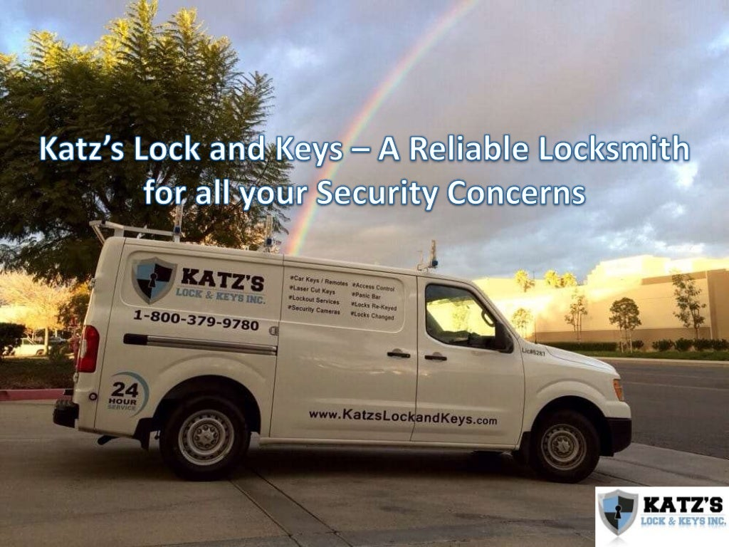 Katz's Lock and Keys – A Reliable Locksmith for all your Security Concerns