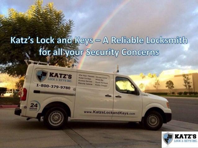 • Katz's Lock & Keys is a legitimate and registered locksmith service provider that offers a full range of locksmith servi...
