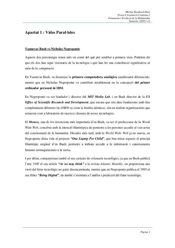 Marina Kaudasch Ruiz                                                                         Prova d'Avaluació Contínua 2 ...