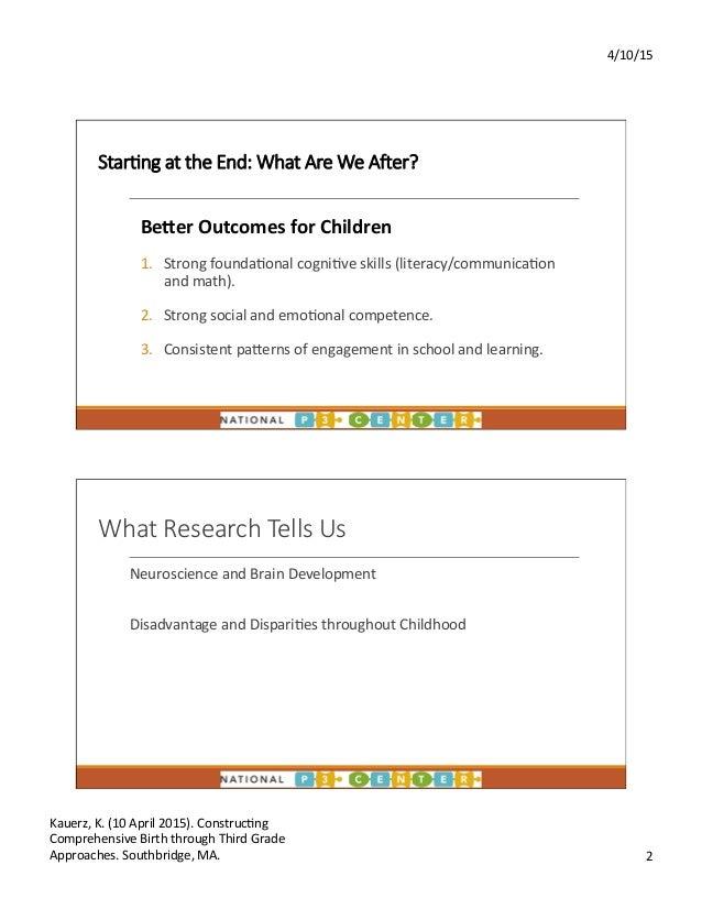 Early Educators Leadership Institute 2015: Part 2 of 2 Slide 2