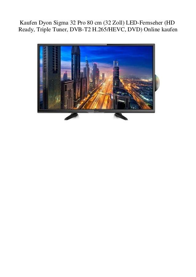Kaufen Dyon Sigma 32 Pro 80 Cm 32 Zoll Led Fernseher Hd Ready Tri