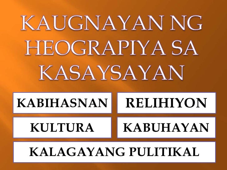 heograpiya definition