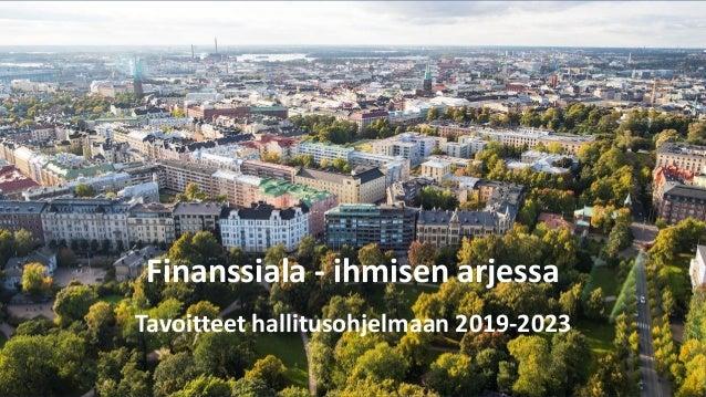 Tuli mitä tuli – Finanssiala kantaa vastuuta ja vie suomalaisia vaurauteen Slide 2
