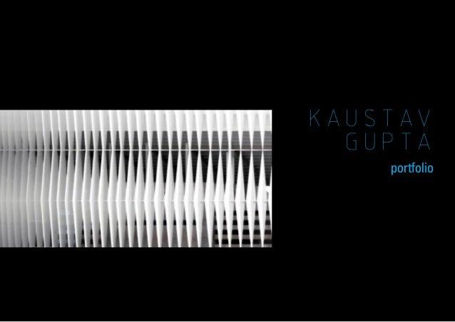 KAUSTAV GUPTA portfolio