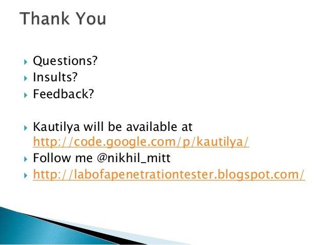 Kautilya: Teensy beyond shell