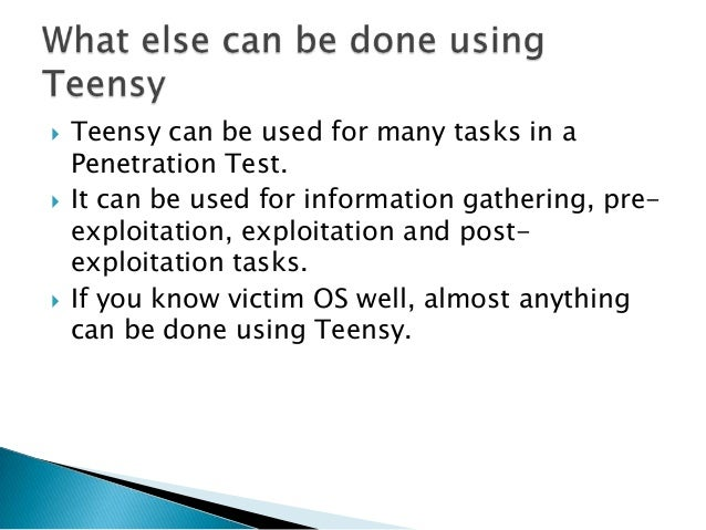    It's a toolkit which aims to make Teensy more    useful in Penetration Tests.   Named after Chanakya a.k.a. Kautilya,...