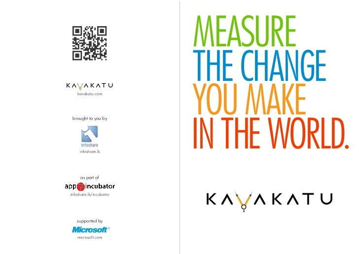 MEASURE                         THE CHANGE    kavakatu.com brought to you by                         YOU MAKE     infoshar...