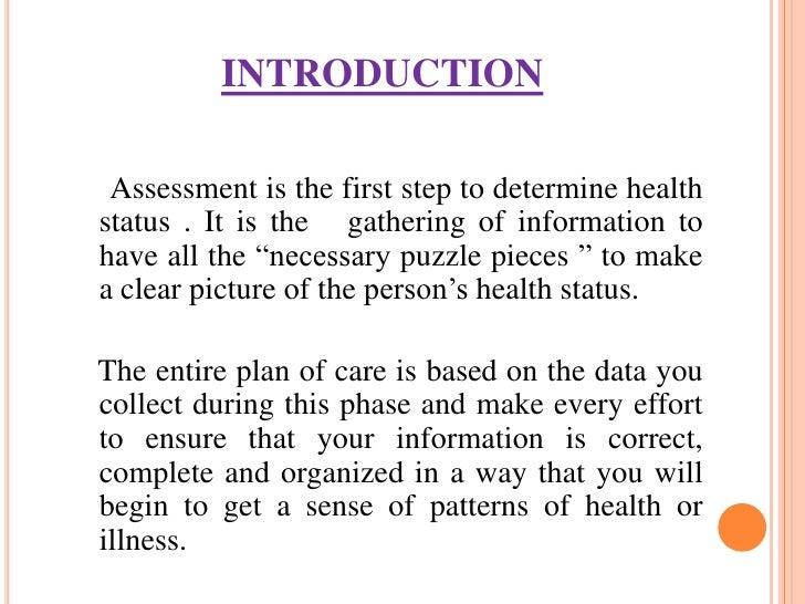 nursing assessment Slide 2