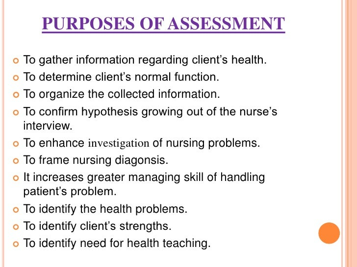 evaluation of patient interview A database includes all pertinent patient information collected by the nurse and other health care professionals the collection of patient data is a vital step in the nursing process because the remaining steps depend on complete, accurate, factual, and relevant data.
