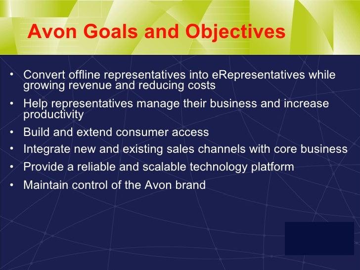 Avon objectives