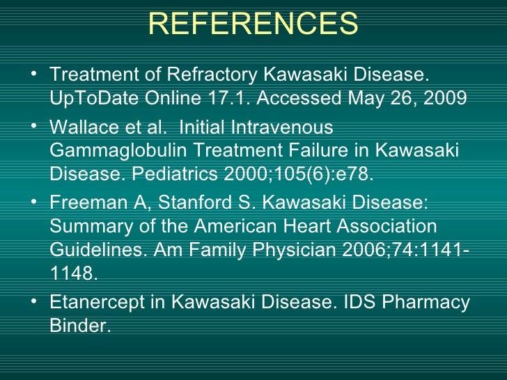 Etanercept in Kawasaki Disease: Clinical Trial Overview