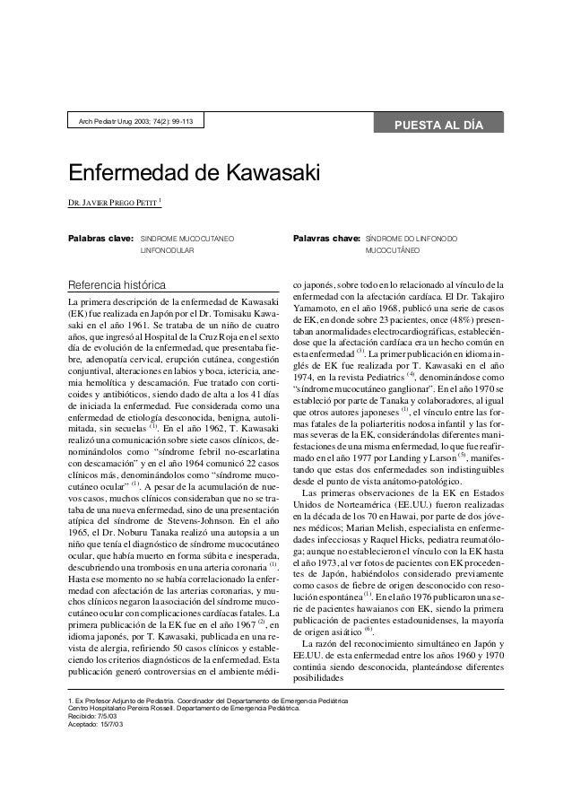 Arch Pediatr Urug 2003; 74(2): 99-113                                                                                     ...