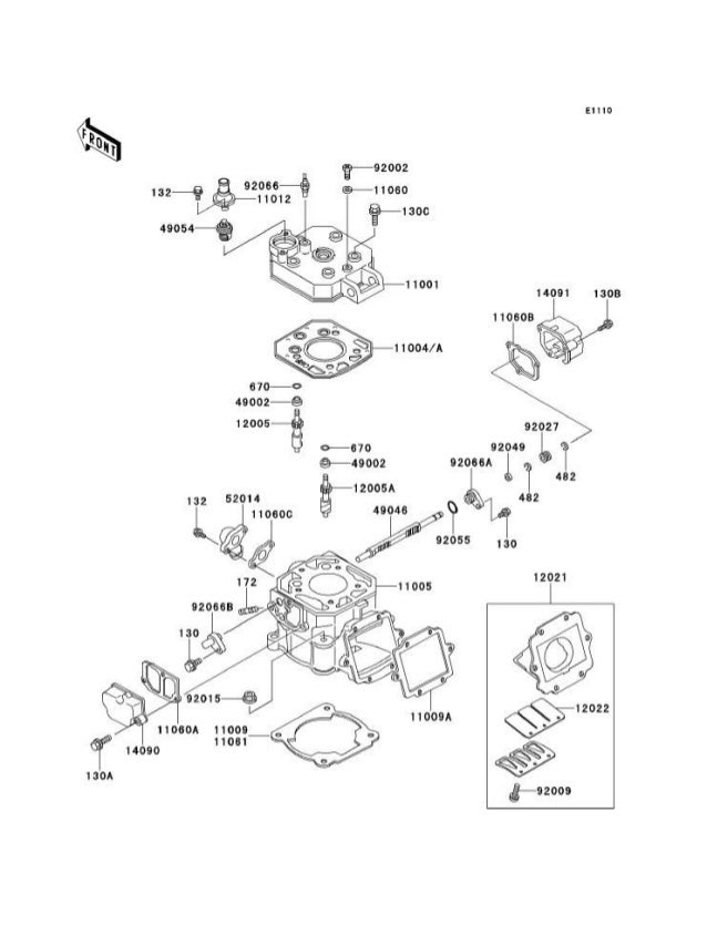 Kawasaki Kmx  Parts Manual