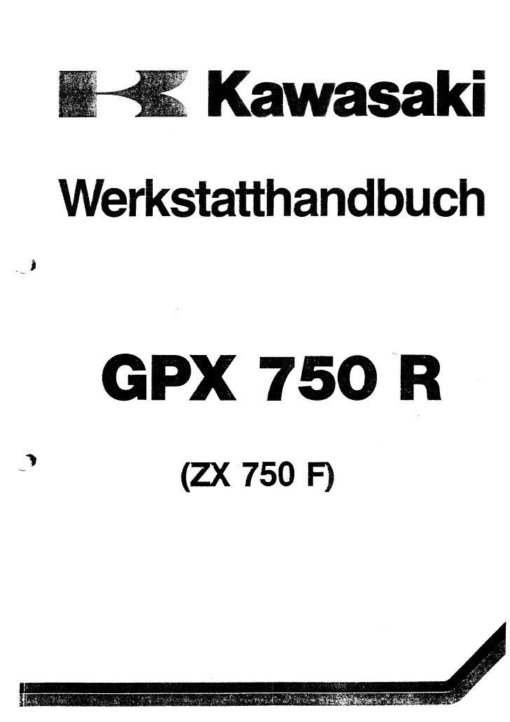 Kawasaki Werkstatthandbuch Pdf
