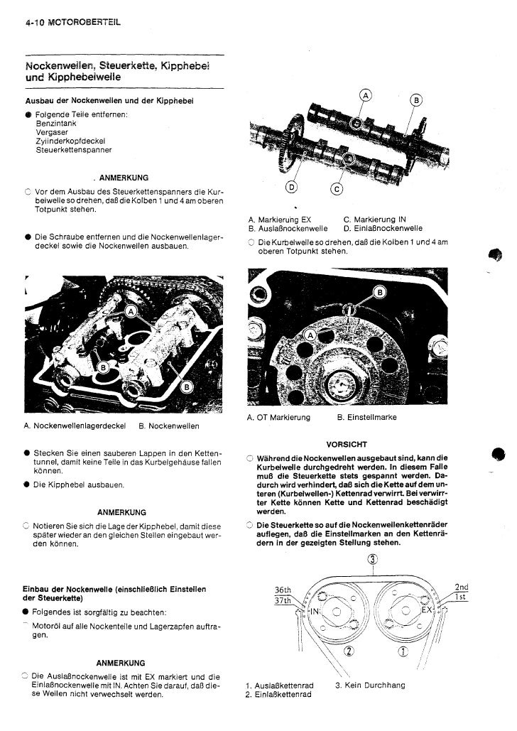 Kawasaki Gpx750 R(Zx750 F1) Service Manual Ger By Mosue