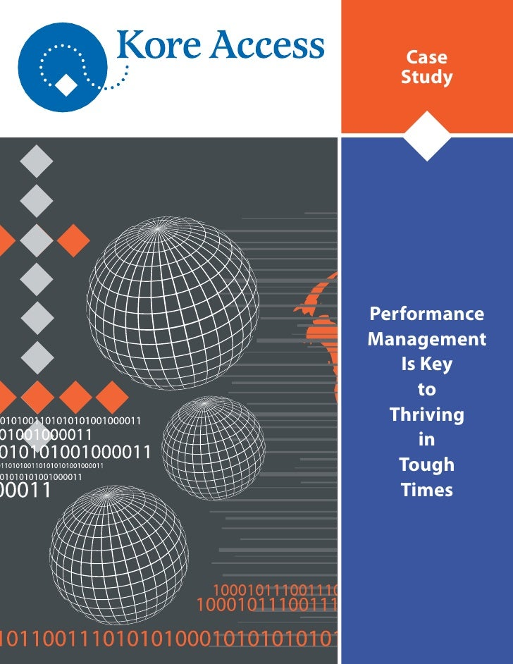 case study on performance management at Case studies in performance management: a guide from the experts (wiley and sas business series) - kindle edition by tony c adkins download it once and read it on your kindle device, pc, phones or tablets.
