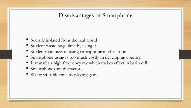 disadvantages of handphone There are many advantages, as well as drawbacks, to allowing your child to have  a cell phone as a parent, you know your child best, so after.