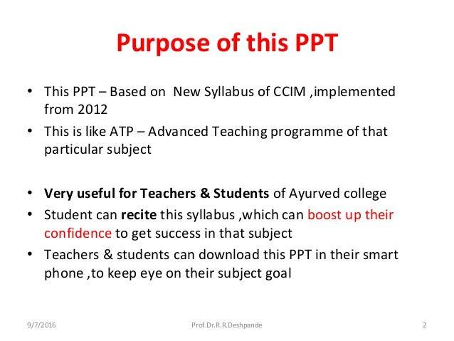 Kayachikitsa syllabus   Slide 2