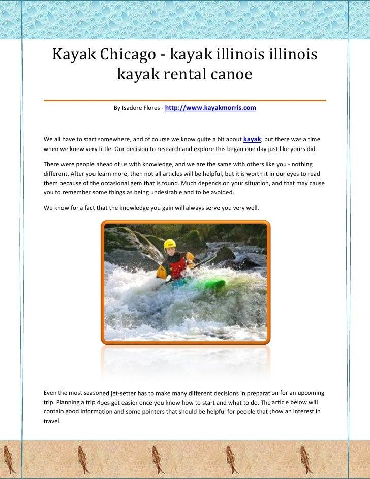 Kayak Chicago - kayak illinois illinois            kayak rental canoe_____________________________________________        ...