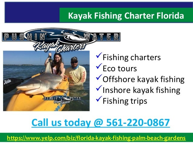 Kayak fishing charter florida 561 220 0867 for Kayak fishing florida