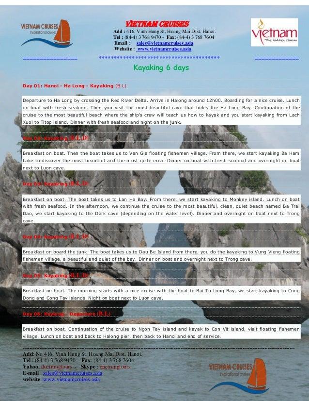 Vietnam Cruises                                                     Add : 416, Vinh Hung St, Hoang Mai Dist, Hanoi.       ...