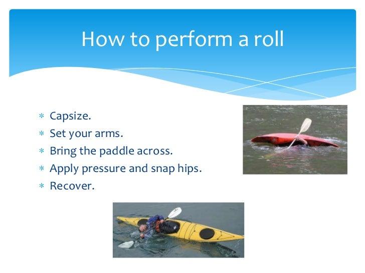 how to teach a kayak roll
