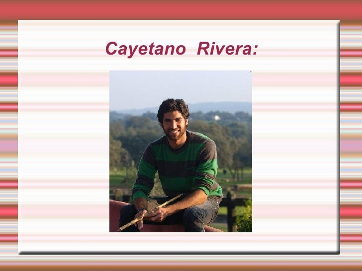 Cayetano  Rivera: