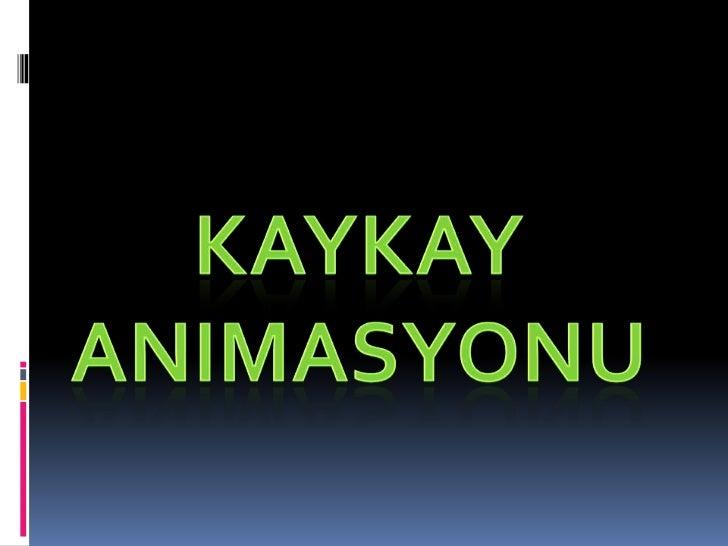 Kaykay animasyonu<br />