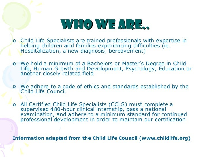 What is Child Life?
