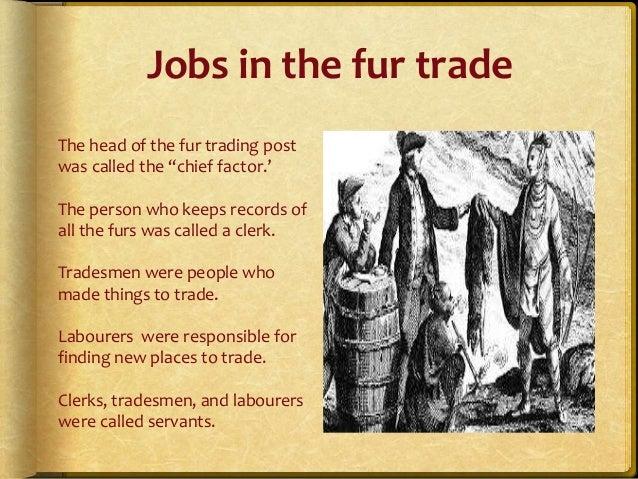 Beaver Fur Trade