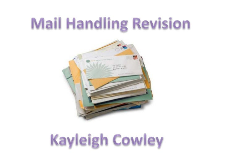 • Mail which comes into the  business.• It can be received through the  post, facsimile or by e-mail.