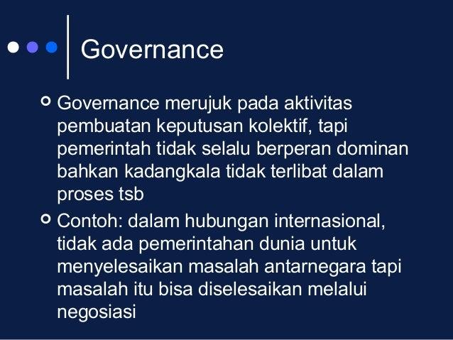 Ruang Lingkup Perbandingan Sistem Pemerintahan