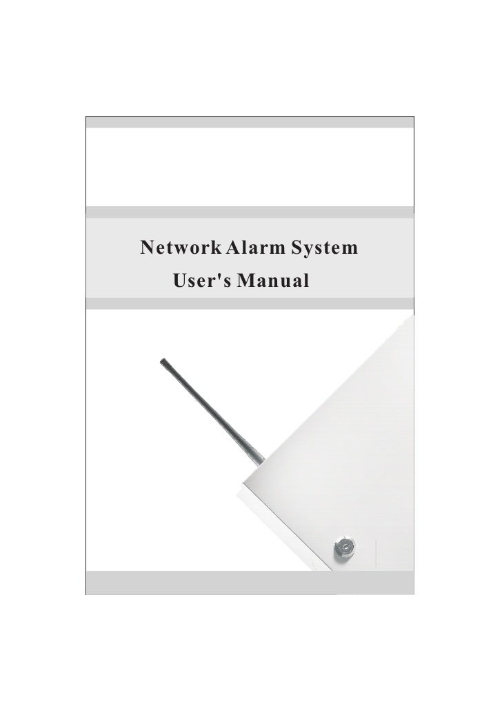 Network Alarm System  Users Manual