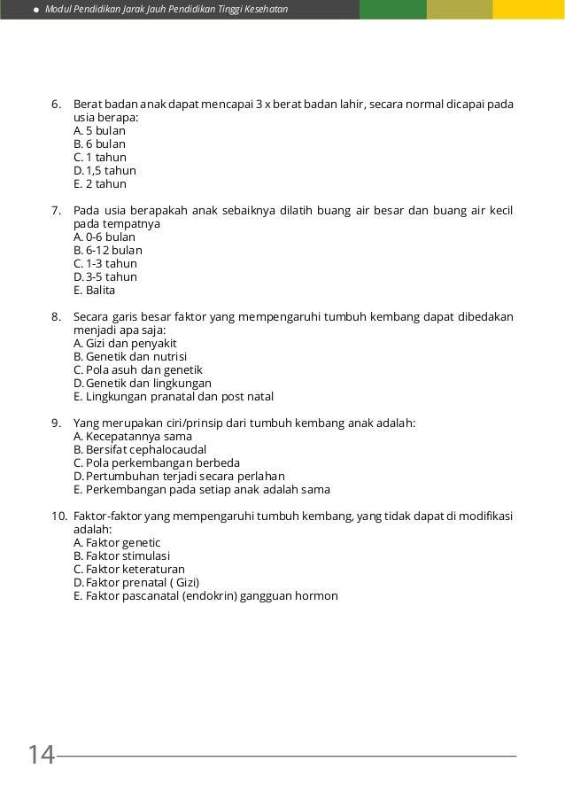 Referat Tumbuh Kembang Anak Usia 1-5 Tahun Scribd