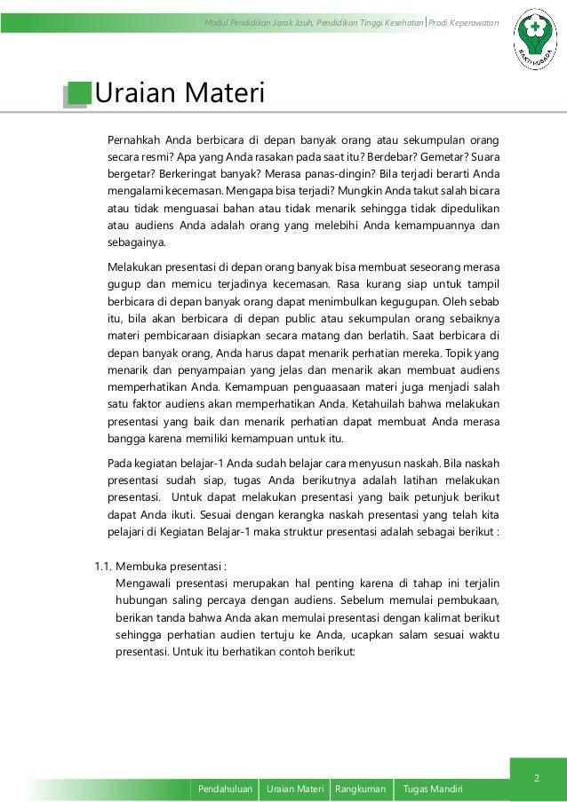 Kalimat Pembukaan Dan Penutup Presentasi Dalam Bahasa Inggris