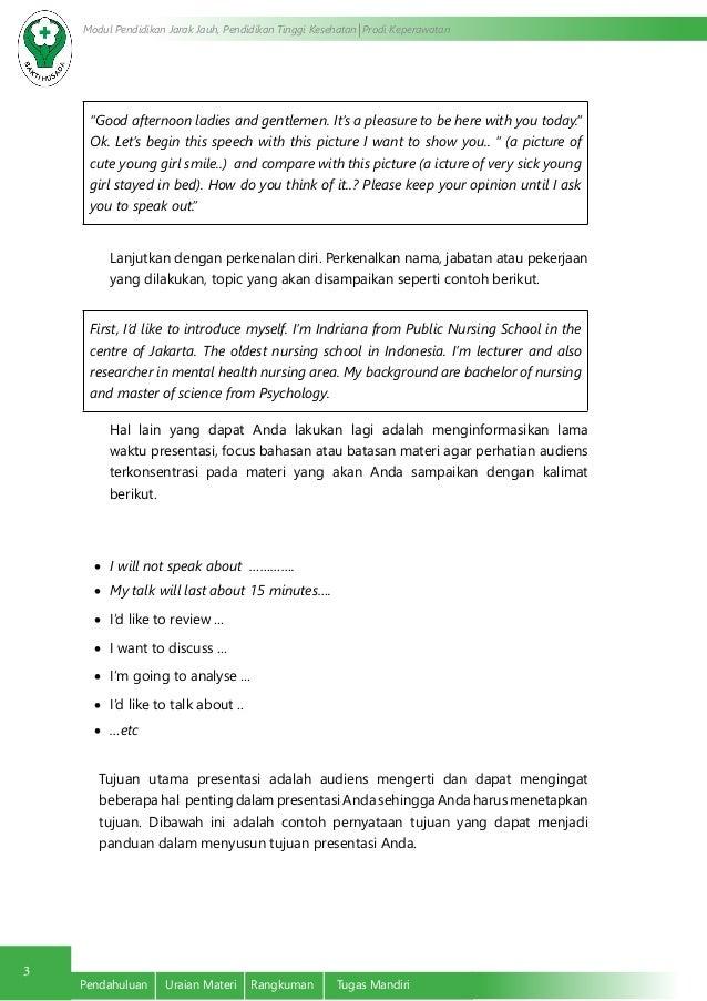 Contoh Teks Presentasi Bahasa Inggris Dan Terjemahannya Berbagai Teks Penting