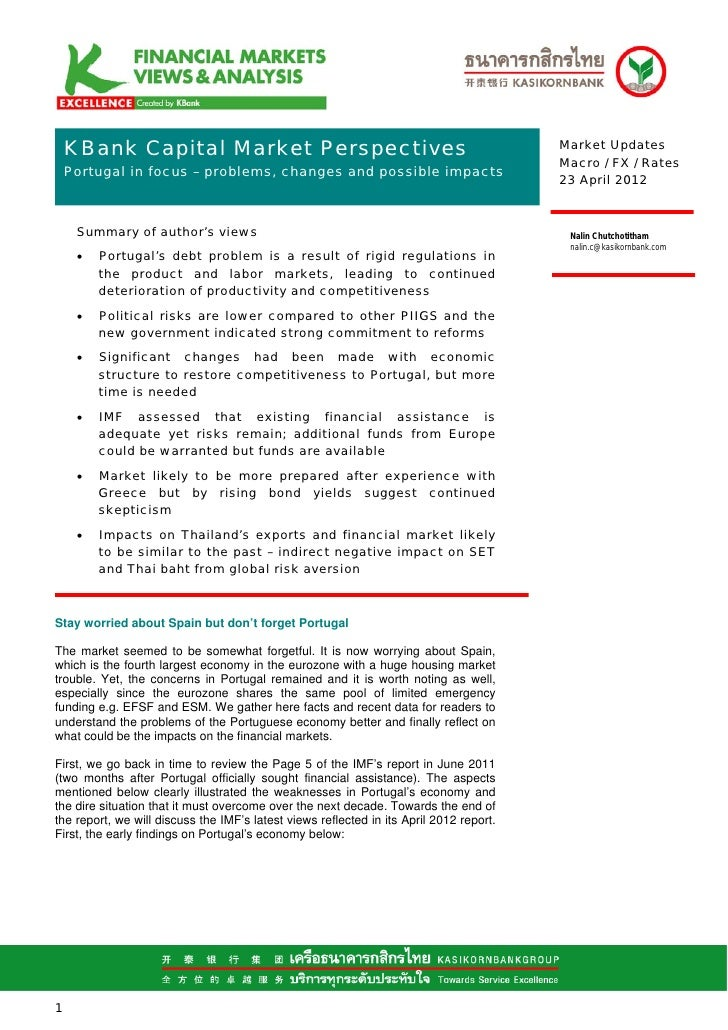KBank Capital Market Perspectives                                                    Market Updates                       ...