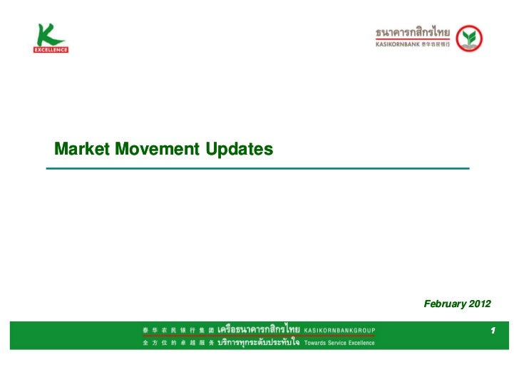 Market Movement Updates                          February 2012                                      1