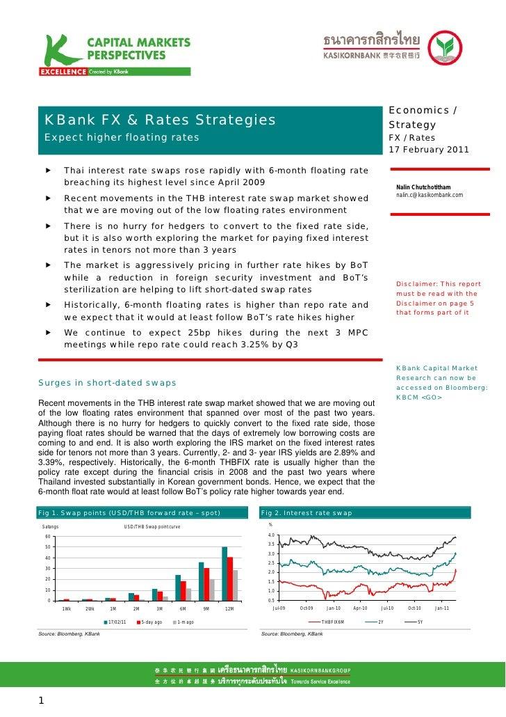 Economics /.Mean S FX & Rates Strategies KBank                                                                            ...