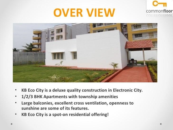 KB Eco City Bangalore
