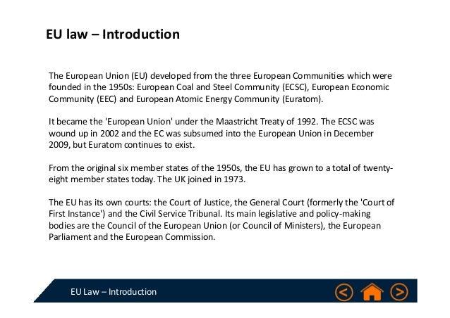 Legal base eu law essays