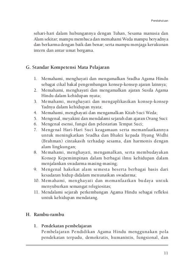 Kbk Smp D Pendidikan Agama Hindu